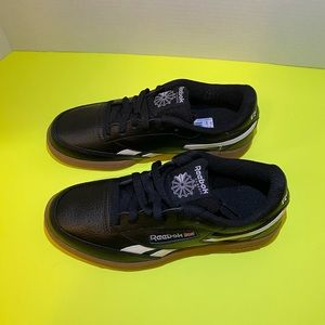 Reebok Workout Plus Unisex Shoes Black Learher